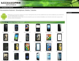 accessoires-android.com screenshot