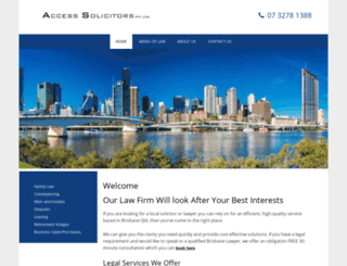 accesssolicitors.com.au screenshot