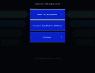 accessvideotips.com screenshot