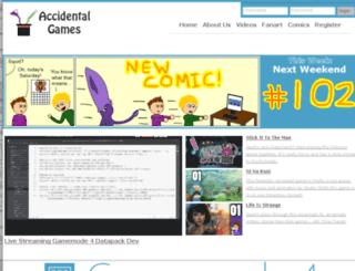 accidentalgames.com screenshot