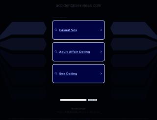 accidentalsexiness.com screenshot