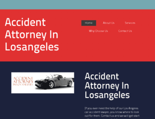 accidentattorneyinlosangeles.com screenshot