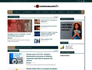 accionglobalxkiketrucker.blogspot.com.es screenshot