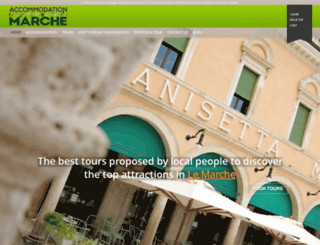 accommodationmarche.com screenshot