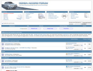 accordforum.de screenshot