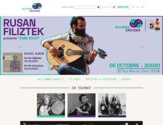 accords-croises.com screenshot