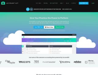 account-kit.com screenshot