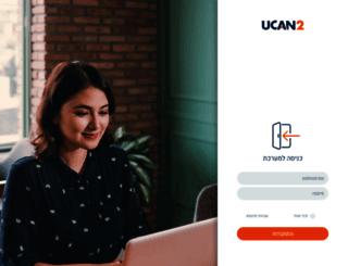 account.ucan2.co.il screenshot
