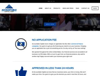 accountablecapital.com screenshot