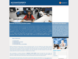 accountexperts.com screenshot