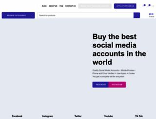 accounts-store.com screenshot
