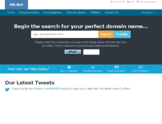 accounts.m6.net screenshot