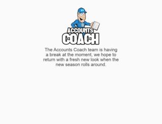 accountscoach.org.au screenshot