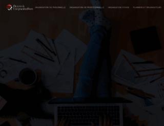 accroalorganisation.fr screenshot