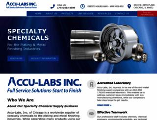 accu-labs.com screenshot