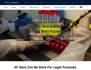 accu-metrics.com screenshot