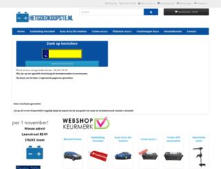 accu-soest.nl screenshot