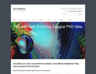 acculation.com screenshot