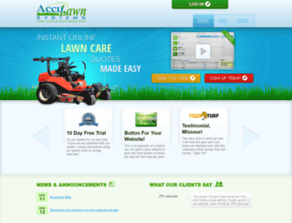 acculawnsystems.com screenshot