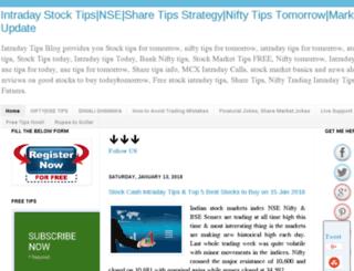 accurate-sureshot-stock-tips.blogspot.com screenshot