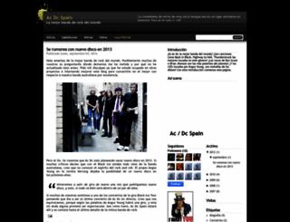 acdcspain.blogspot.ro screenshot
