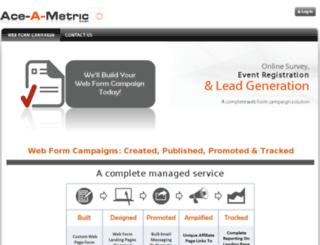 ace-a-metric.com screenshot