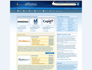 aceaffiliates.com screenshot