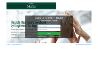 aceclifehealthtrust.easyappsonline.com screenshot