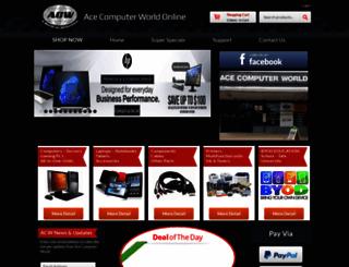 acecomputerworld.com.au screenshot