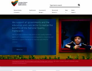 acecqa.gov.au screenshot