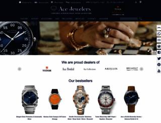 acejewelers.com screenshot
