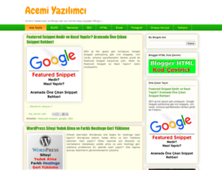acemiyazilimci.com screenshot