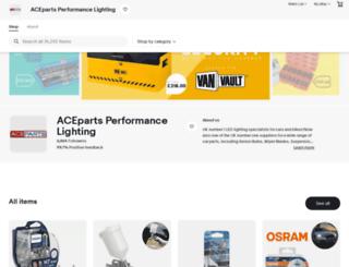 aceparts.com screenshot
