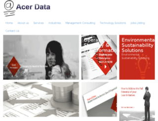 acerdata.com screenshot