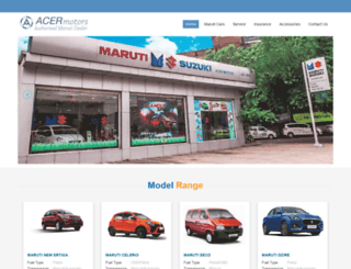 acermotors.com screenshot