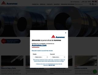 aceromex.com screenshot