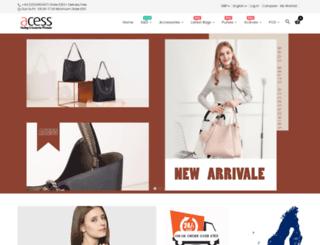 acess.co.uk screenshot
