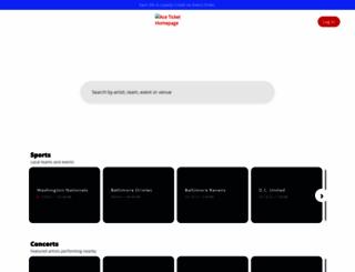 aceticket.com screenshot