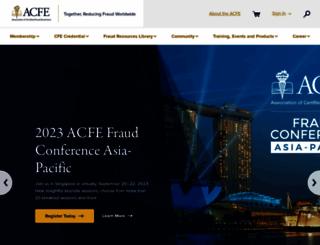 acfe.com screenshot