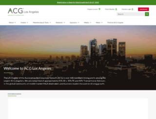 acgla.org screenshot