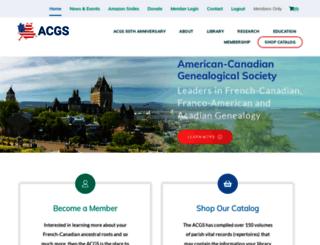 acgs.org screenshot