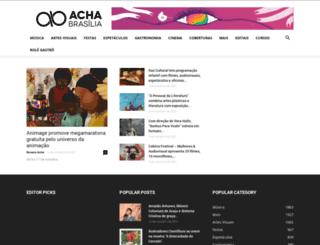 achabrasilia.com screenshot