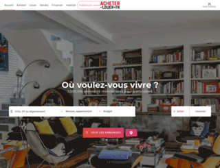 acheter-louer.fr screenshot