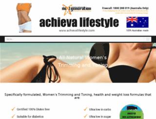 achievalifestyle.com screenshot
