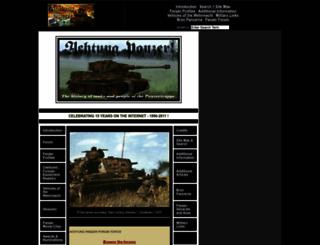 achtungpanzer.com screenshot