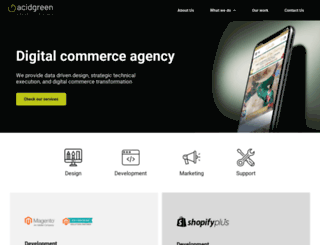 acidgreen.com.au screenshot