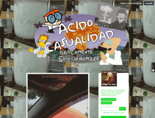 acidocasualidad.tumblr.com screenshot