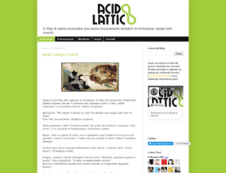acidolattico.org screenshot