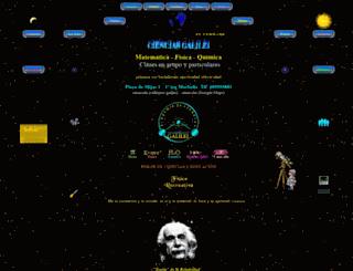 acienciasgalilei.com screenshot