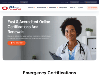 aclscertification.com screenshot